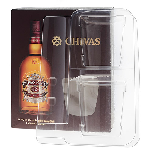 Chivas packaging insert - - packaging inserts and other retail packaging